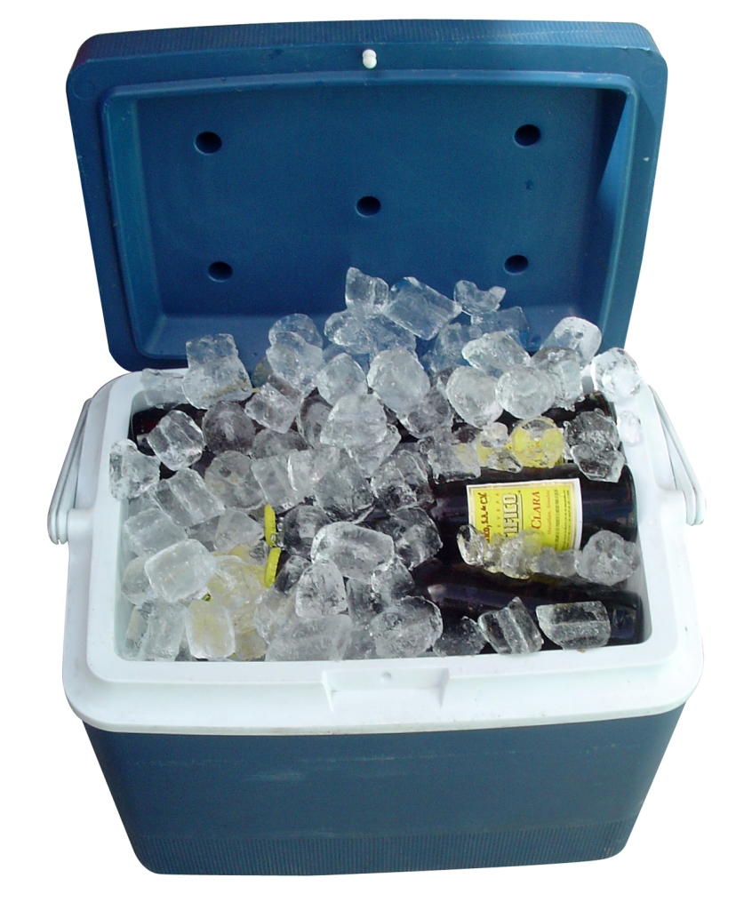 We could always get a case of beer to put in a cooler on ice.